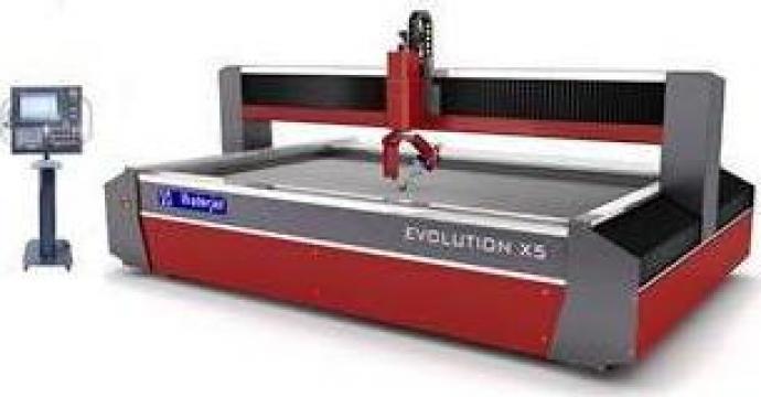 Masini de taiat cu jet de apa - Evolution X5