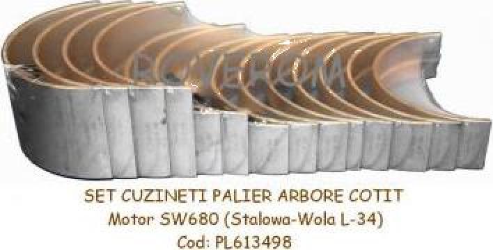 Cuzineti  palier arbore cotit motor Stalowa-Wola L-34