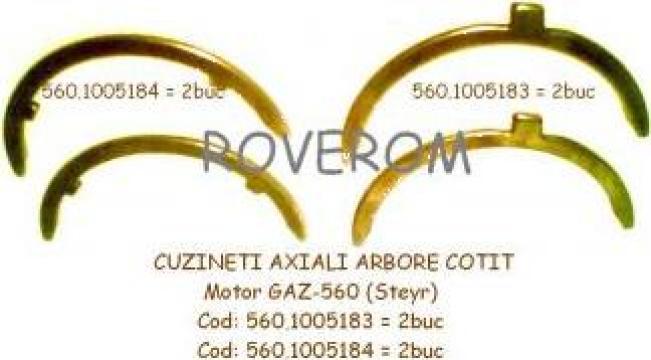 Cuzineti axiali arbore cotit motor GAZ-560 (Steyr)