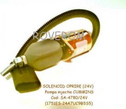 Solenoid 24V, pompa injectie Cummins, Hitachi Ex215