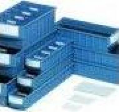 Tava-sertar din plastic Histoteca de la Depobox