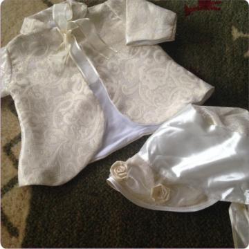 Jacheta eleganta cu bonetica pentru copii de la Simonne