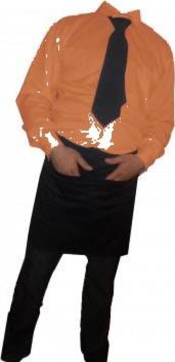 Camasa clasica portocalie de la Johnny Srl.