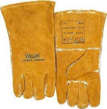 Manusi sudor cu captuseala din bumbac 10-2101GB Weldas de la Bendis Welding Equipment Srl