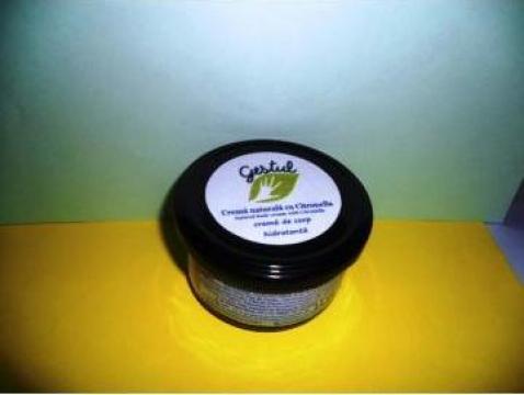 Crema naturala cu Citronella de la Gestul Natural