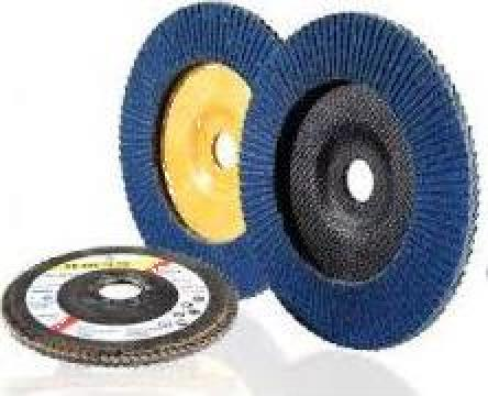 Disc lamelar fi 125 granulatie 40-120 de la Impuls Distrib