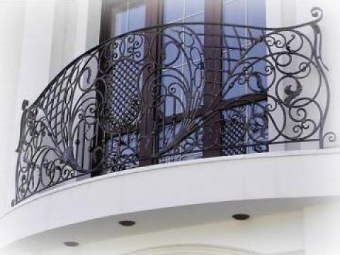 Balustrada pentru balcon fier forjat Constanta