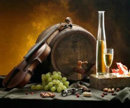 Vin alb (Feteasca Regala si Aligotei) de la
