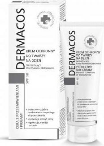 Crema protectoare de zi pentru reducerea petelor Dermacos de la Promo Plus Srl