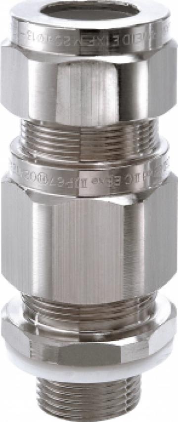 Presetupa antiex EEx d, NPT 1 1/2, cablu armat