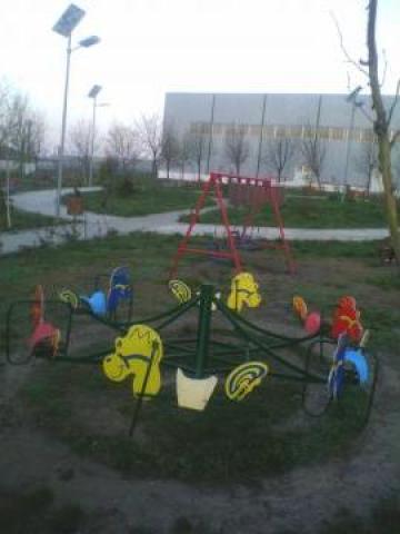 Carusel metalic parc