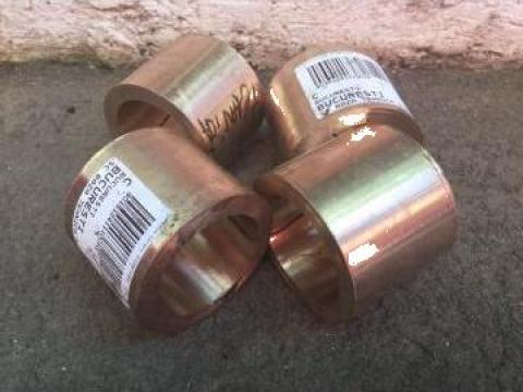 Bucse de bronz CuSn12 ext 67 x int 59 x 52 lung. = 4 buc. de la Baza Tehnica Alfa Srl