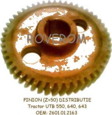 Pinion (Z=50) distributie motor D2404, tractor UTB 550, 640