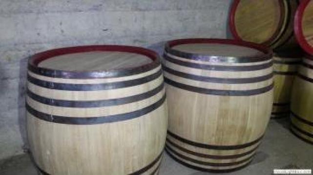 Butoi lemn 500 litri de la PFA Tanase Victor