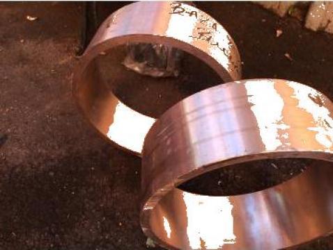 Bucsa bronz 270x250x95, CuSn6Zn4Pb4 de la Baza Tehnica Alfa Srl
