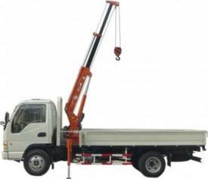 Inchiriere camion cu macara 5.5 m de la Veronmax
