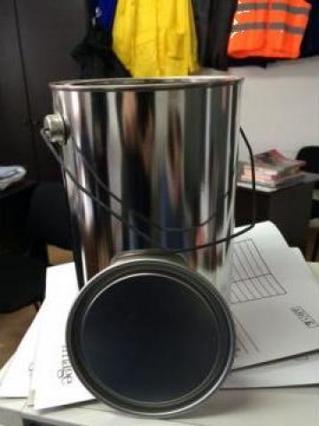 Recipient-galeata metal 5 litri