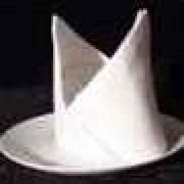 Servetele de masa albe 40/40 cm de la Johnny Srl.