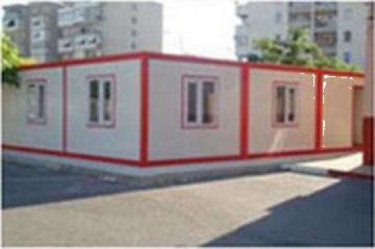 Container dormitor cu grup sanitar simplu de la Estpoint SRL