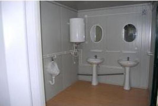 Containere birou cu grup sanitar