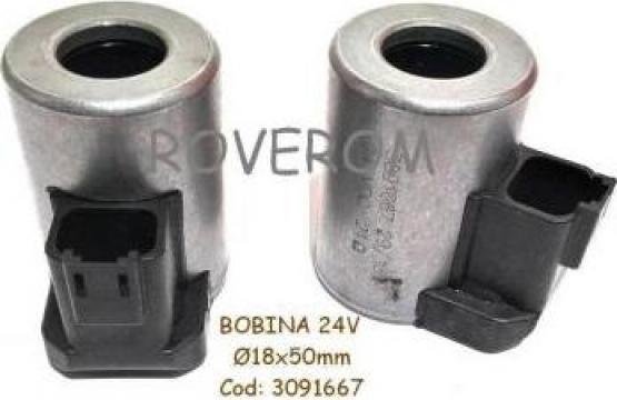 Bobina 24V, D18x50mm, conexiune electrica Deutsch (N) de la Roverom Srl
