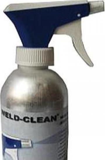 Pompa aluminiu lichid anti-stropi