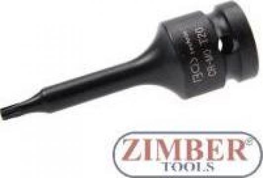 "Cheie torx impact T-Star 1/2"" T20 - 60mm de la Zimber Tools"