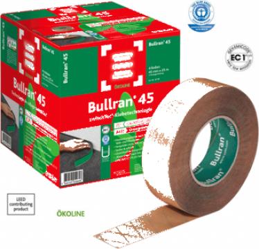 Banda adeziva pentru plinte din mocheta Bullran 45