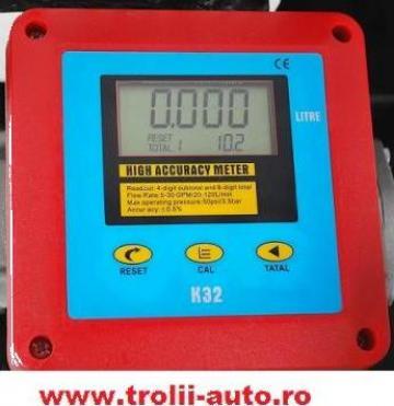 Contor digital, pompa transfer motorina 20-120l/min de la Trolii-auto.ro