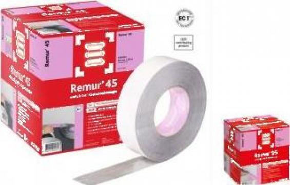 Banda dublu adeziva pentru plinte din PVC Remur 45, 55, 95 de la Alveco Montaj Srl