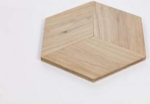 Parchet Design Cube clasa ABC Brut