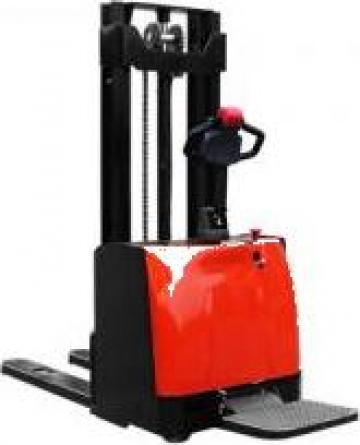 Stivuitor electric pietonal cu platforma 1500kg