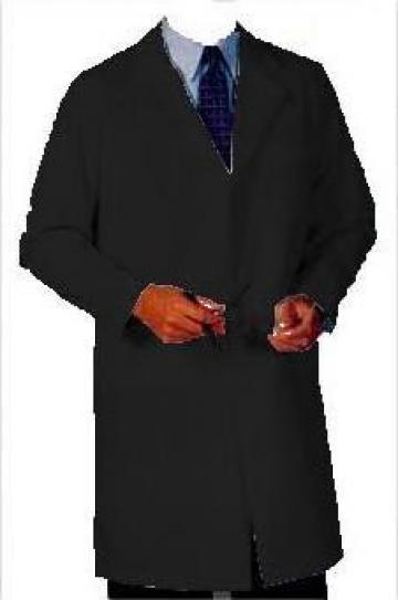 Halat de doctor negru de la Johnny Srl.