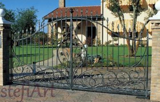 Porti rezidentiale din fier forjat de la Stefiart Design Srl