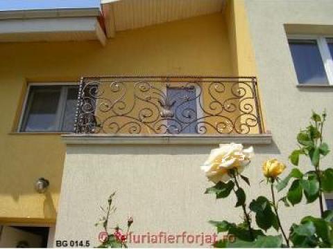 Balcon fier forjat BG 014 de la Teluria S.r.l.