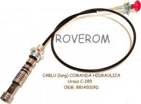 Cablu (lung) comanda hidraulica Ursus C-385
