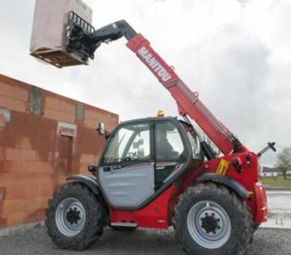 Inchiriere telehandlere rotative si fixe in Bucuresti de la Veronmax