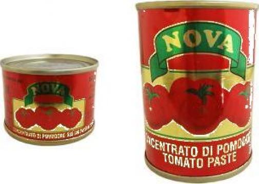 Pasta de rosii Nova de la Lorimod Prod Com Srl