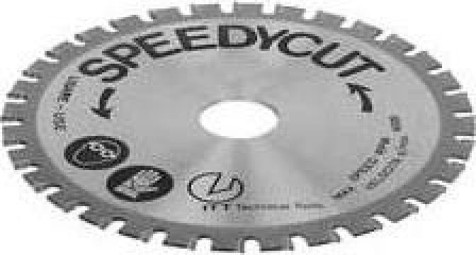 Disc din carbura pentru fierastrau circular 0537-047 de la Nascom Invest