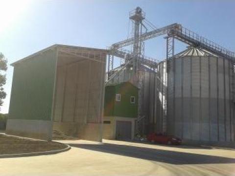 Silozuri metalice pentru depozitare cereale de la Useprest