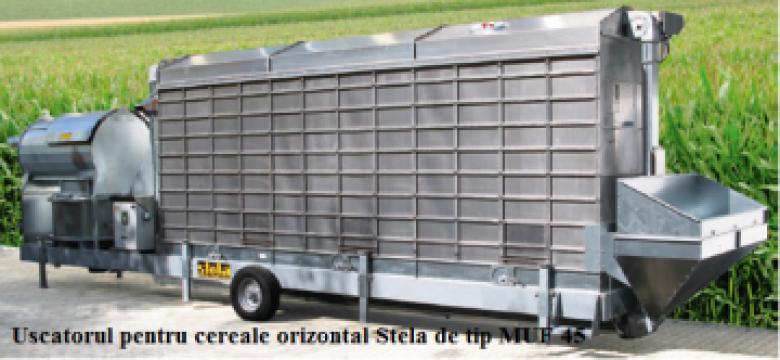 Uscatoare mobile de cereale de la Useprest