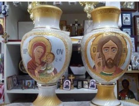 Vaze religioase pictate manual de la Chris World Srl