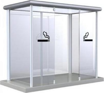 Cabina pentru fumatori Outdoor - Line de la Parcon Freiwald Srl