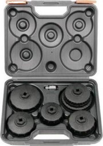 """Trusa tubulare filtru de ulei 3/8"""" ZB-1018 -1/2""""6buc. de la Zimber Tools"""