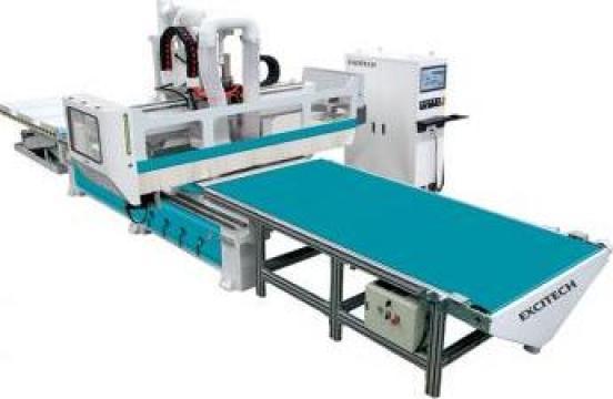 Centru de prelucrare lemn CNC 3 axe Autoloading de la Adline Industries