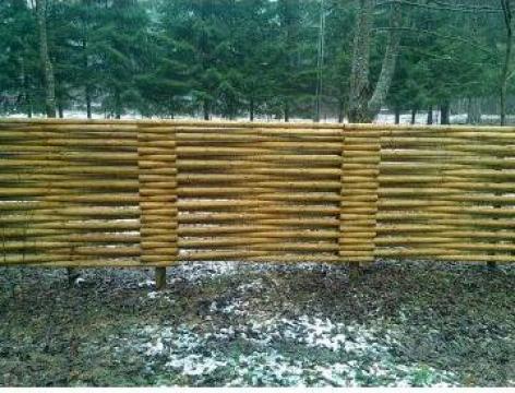 Gard lemn de la Forvin Impex