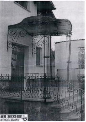 Copertina din fier forjat de la Vietta Srl