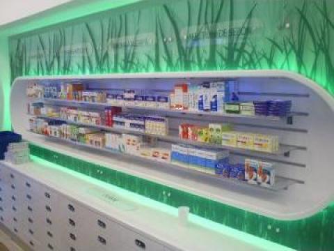 Mobilier farmacii Sensiblu