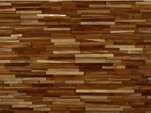 Tapet pentru pereti din lemn de teak Deveron
