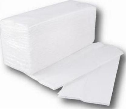 Prosoape hartie pliate alb de la MKD Professional